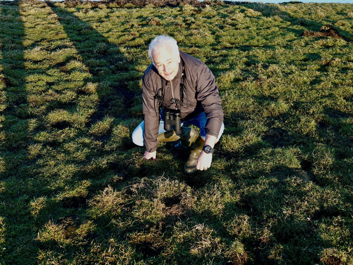 De vondst van het eerste kievitsei is de start van het weidevogelseizoen 2021